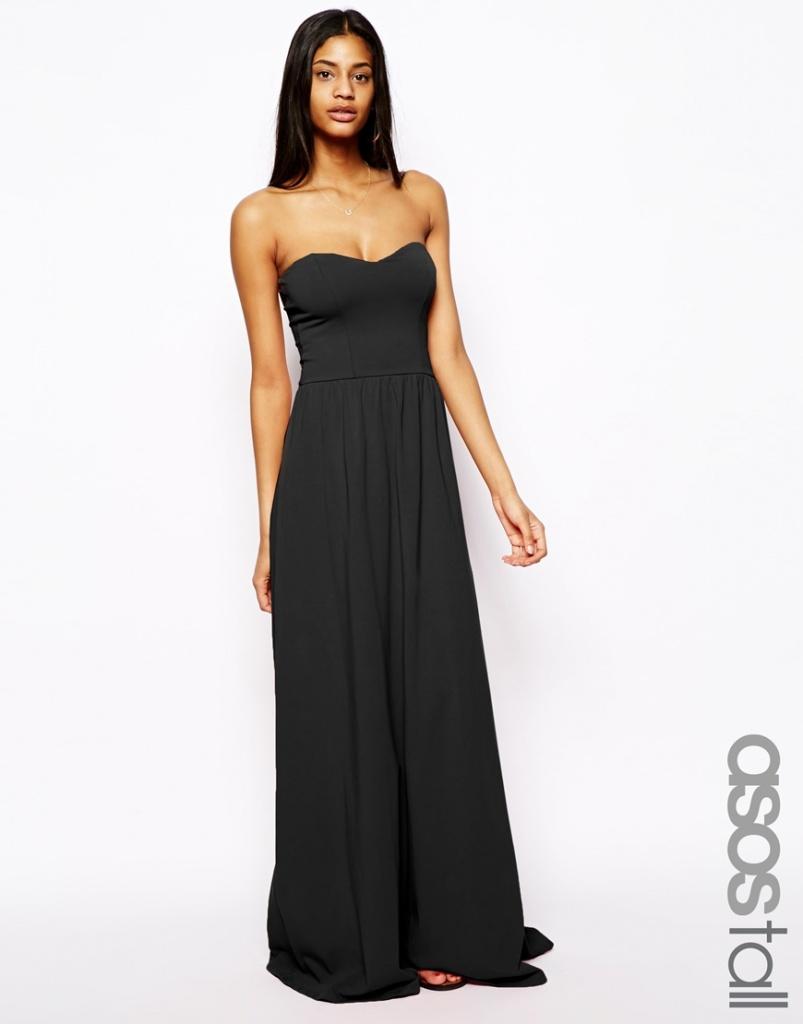 robe bustier longue