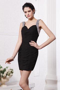 robe courte de soirée