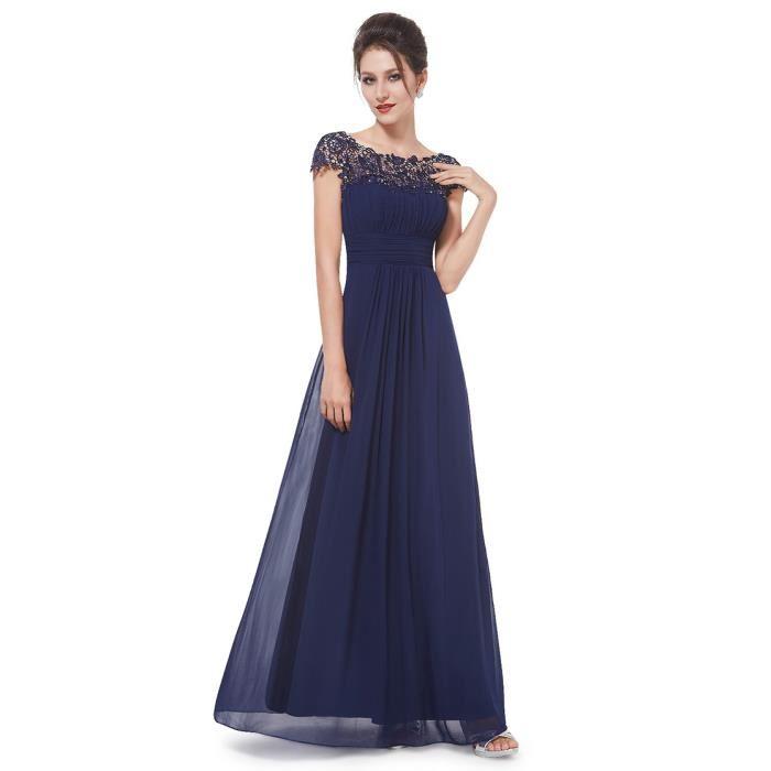 robe longue de soirée pas cher