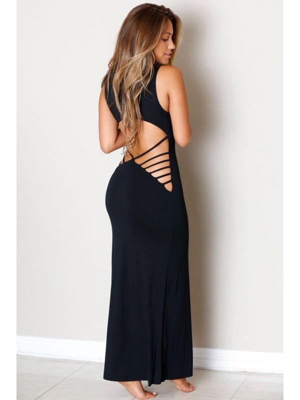 robe longue dos nu