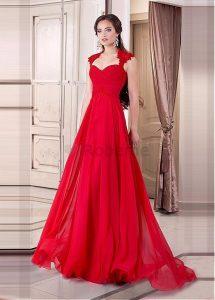 robe rouge soirée